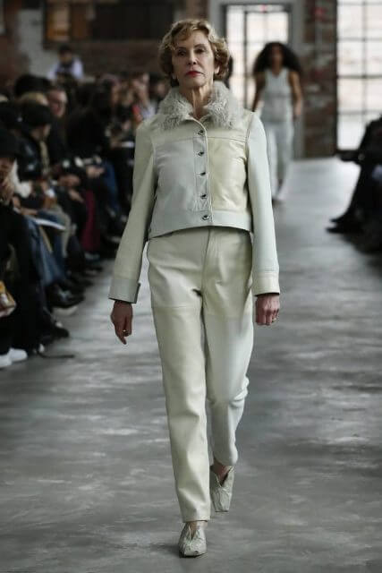 trousers matured woman