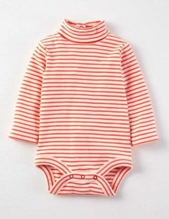 turtleneck baby girl dress