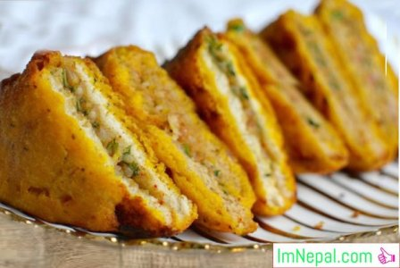BREAD PAKORA Recipes Dish Foods