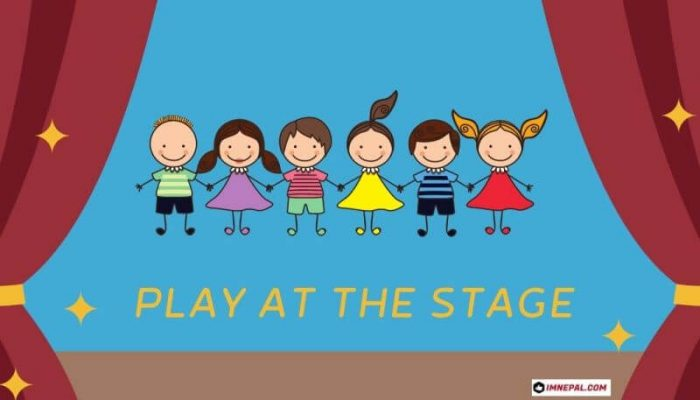 Children Play At the Stage