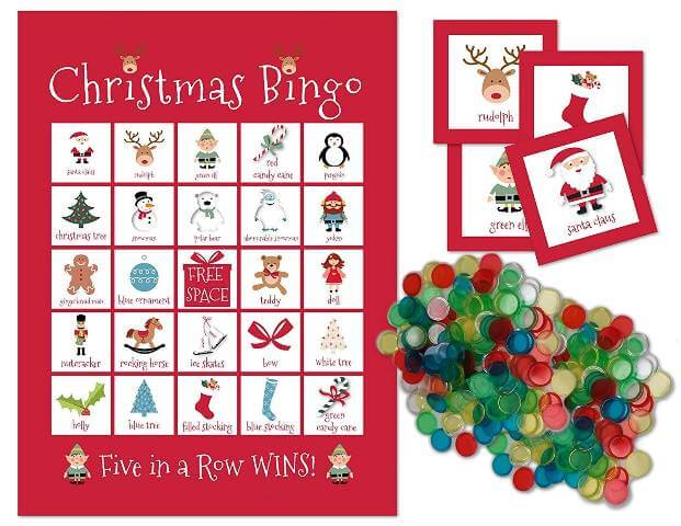 Chirstmas Bingo Christmas Day Celebration Ideas in School