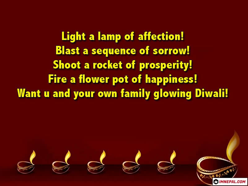 Happy Diwali Greeting Cards Wishes Image