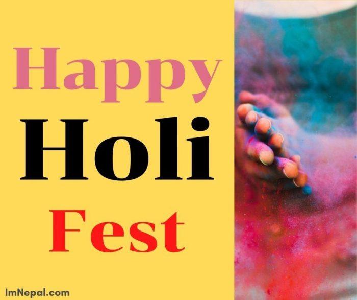 Happy Holi fest Image