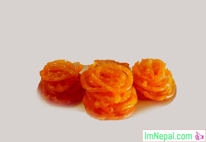 JALEBI - Indian Nepali Recipes Dish Foods