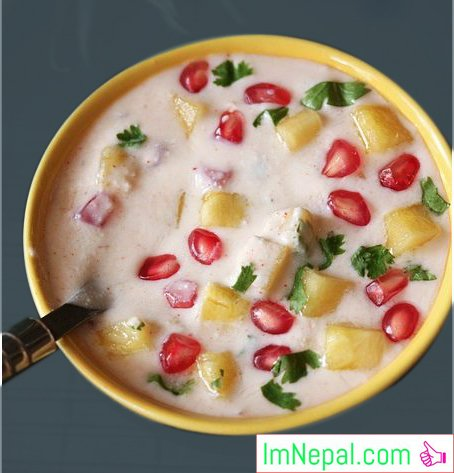 PINEAPPLE RAITA Recipes Dish Foods