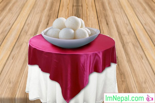 Rasgullas sweet recipe