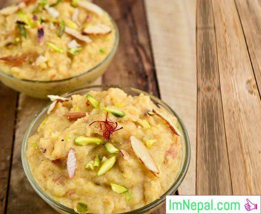 SOOJI HALWA Recipes Dish Foods