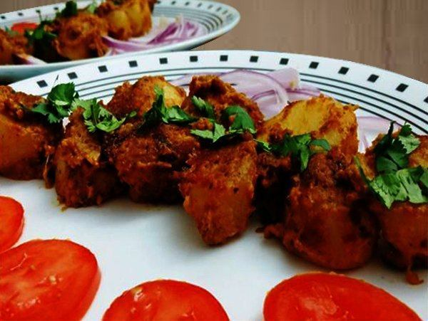 TANDOORI ALOO Recipes Dish Foods