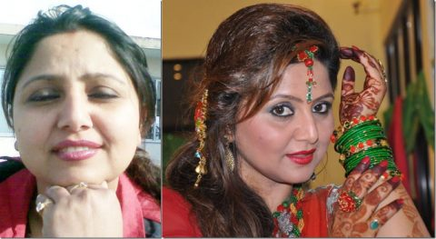 20 Nepali Actress Before and After Makeup With Socking Pictures