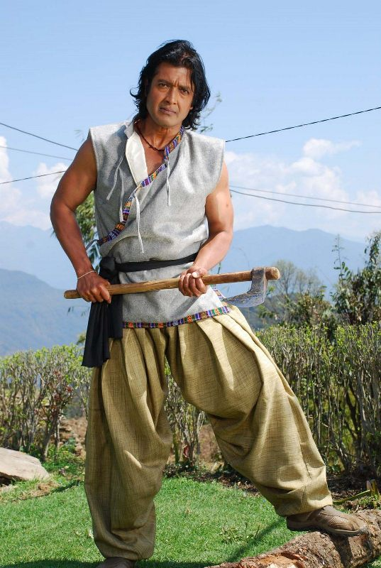 Nepali Actor Superstar Rajesh Hamal Picture
