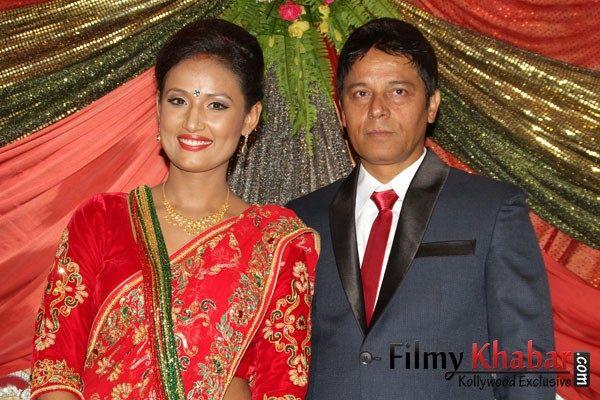 Nepali actor Anup Baral and actress Deeya Maskey