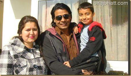 Nepali actor Biraj Bhatta and Saraswati Bhatta