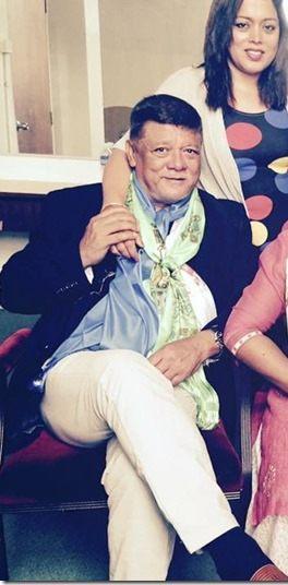 Nepali actor Sunil Thapa and Rajani Thapa