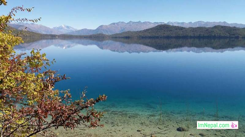 beautiful views of Rara lake Mugu Nepal Images