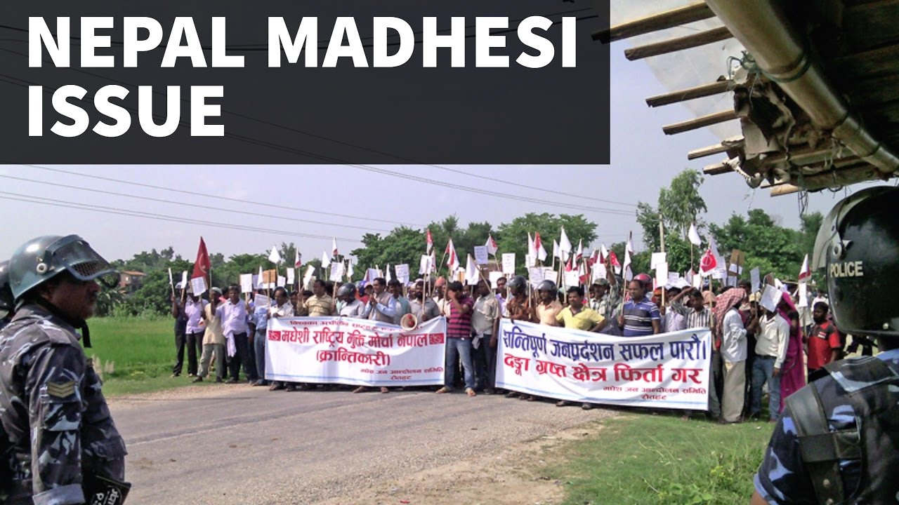 Major Issues and Problems of Madhesh