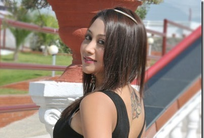 Nepali actress ashishma nakarmi mandala tattoo photo