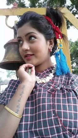 Nepali actress sagun shahi tattoo images