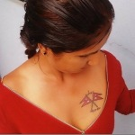 Nepali actress suvekshya thapa tattoo pictures