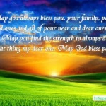 100 May God Bless You Always Text Messages, Quotes & Status
