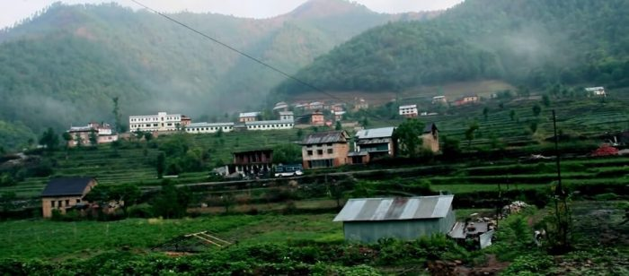 Daman Chitlang Place Village Nepal