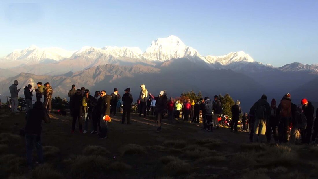 Poon Hill Ghorepani Views, Nepal