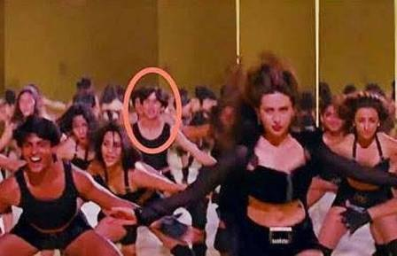 shahid as background dancer
