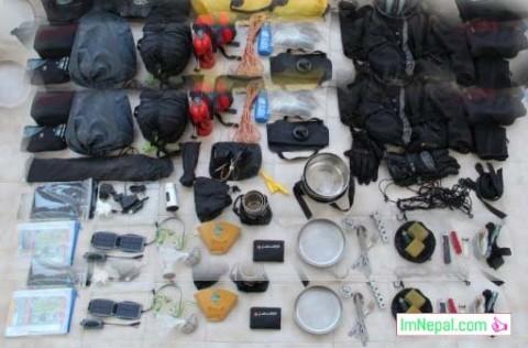 Trekking Equipment In Nepal Image