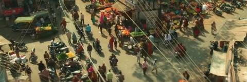 street market in india