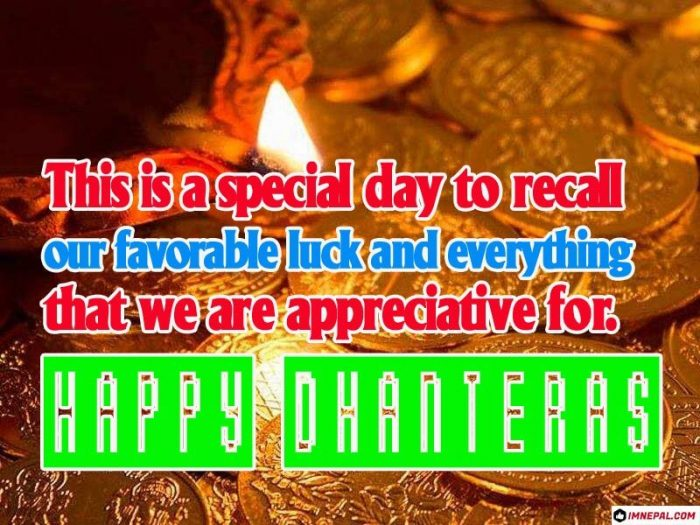 Happy Dhanteras Wishes Greeting Cards