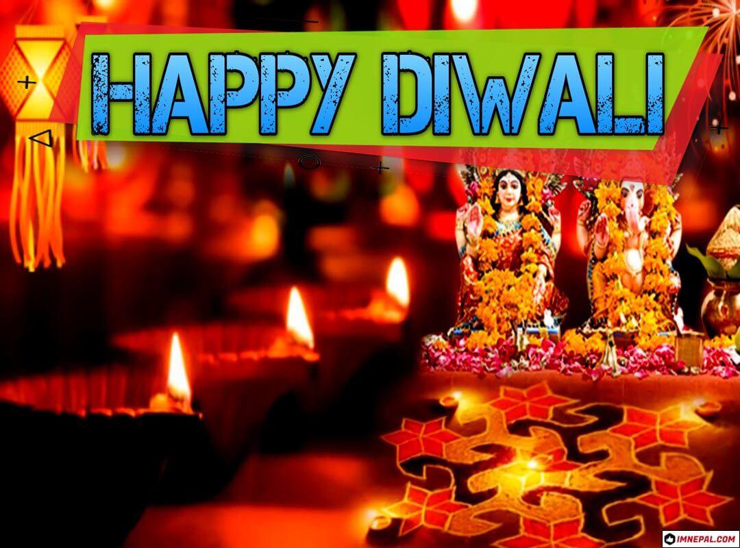 Happy Diwali Greeting Cards Image