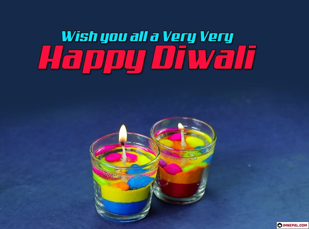 Happy Diwali Greeting Cards Image