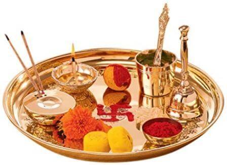 Pooja thali