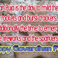 Happy Diwali Govardhan Puja Wishes, Messages, Status Quotes Images