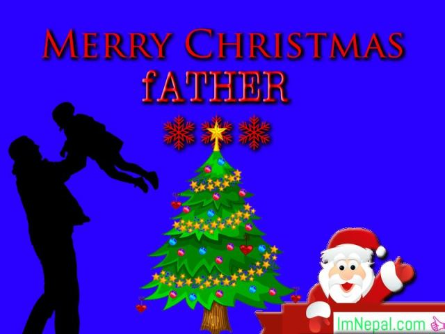 500 Heart Touching Merry Christmas Wishes & Messages For Father – Quotes & Status Collection