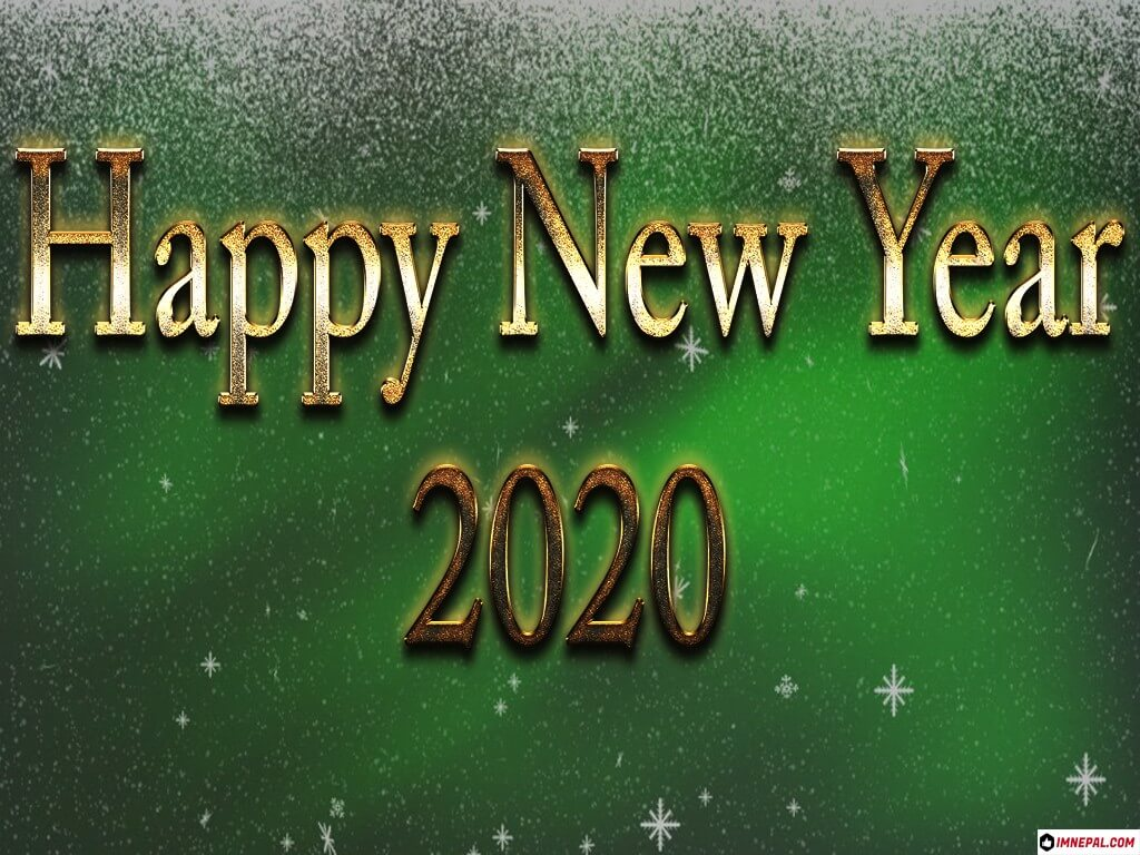 Happy New Year 2020 Wishes Image
