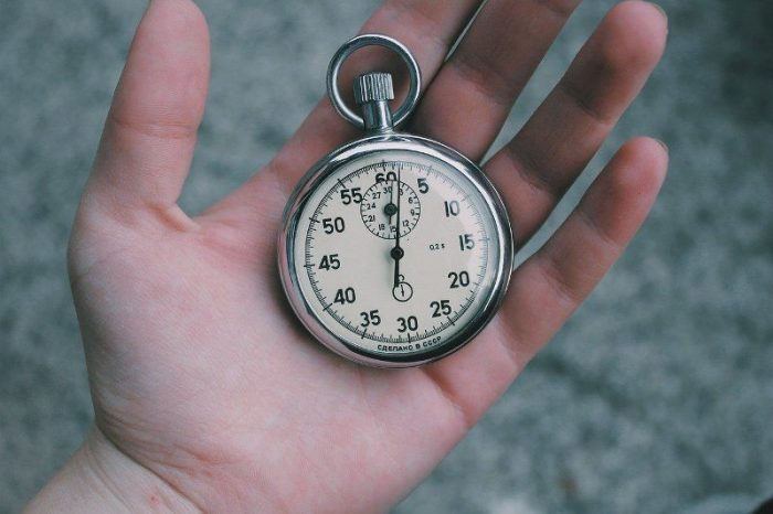 time watch hand