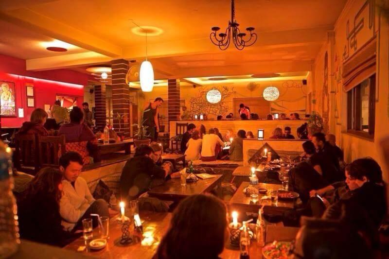 Places restaurant and bar, Kathmandu, Nepal