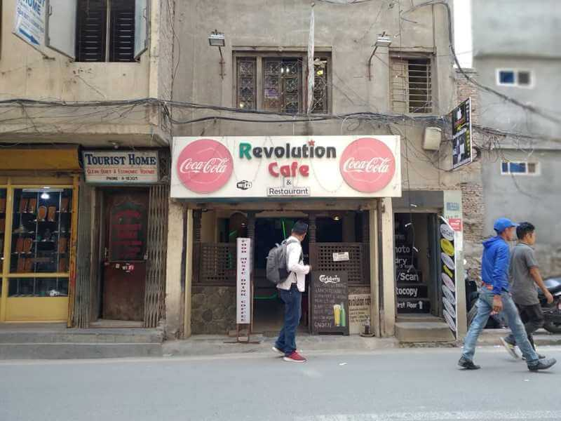 Revolution cafe and restaurant, kathmandu, Nepal