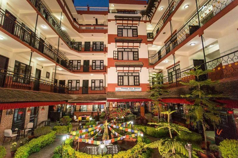 Thamel Eco resort, Kathmandu, Nepal