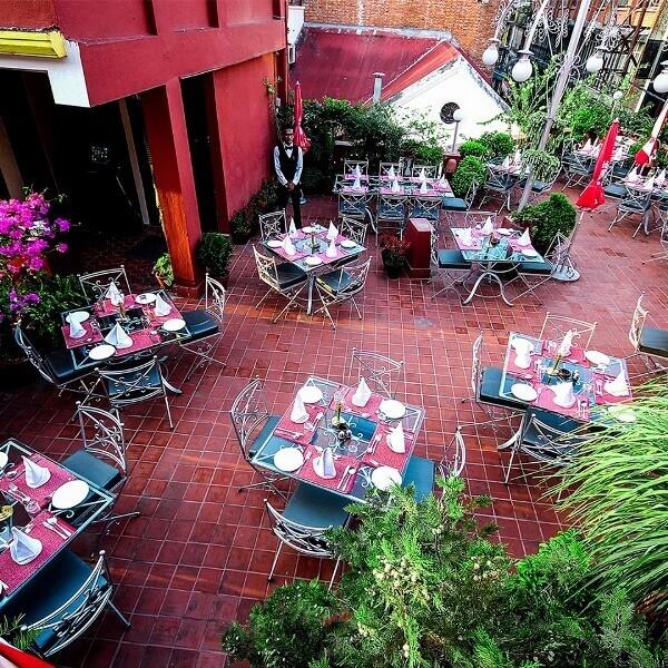 Third eye restaurant, thamel, Kathmandu, Nepal
