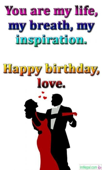 Happy Birthday Wishes For Girlfriend lovers sweetheart gf messages text greeting images wallpapers pic pictures photos