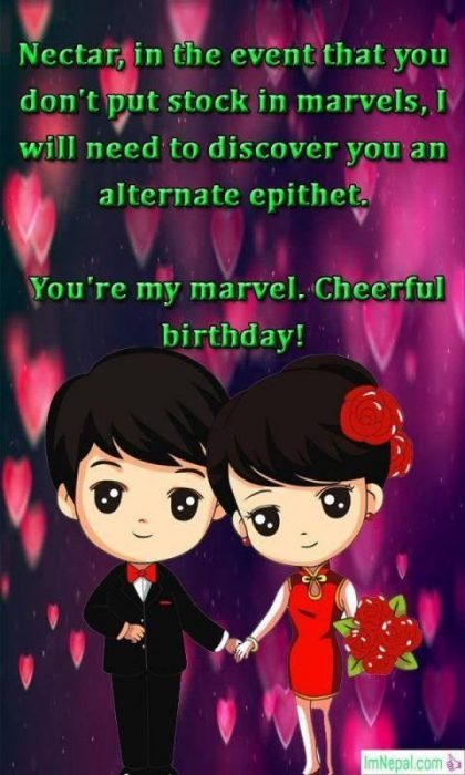 Happy Birthday Wishes For Girlfriend lovers sweetheart gf messages text greetings images wallpapers pic picture photos