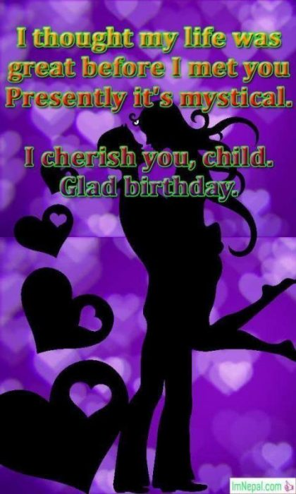 Happy Birthday Wishes For Girlfriend lovers sweetheart gf messages text greetings images wallpapers pics picture photos
