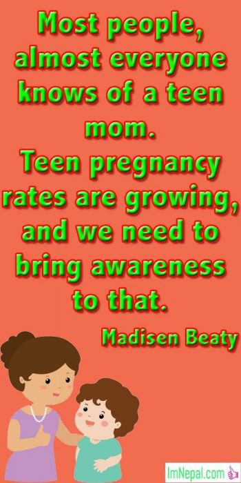 Happy Mother's Day Quotes images quotations famous pics pictures photos love mom teen pregnancy awareness