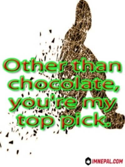 Facebook Captions For Profile Pictures chocolates