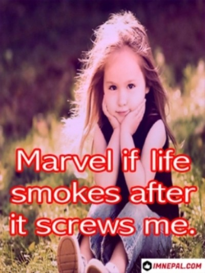 Facebook Captions For Profile Pictures smokes
