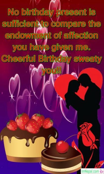 Happy birthday bday girlfriend gf lovers wishes images greeting cards pics photos wallpapers quotes pictures messages