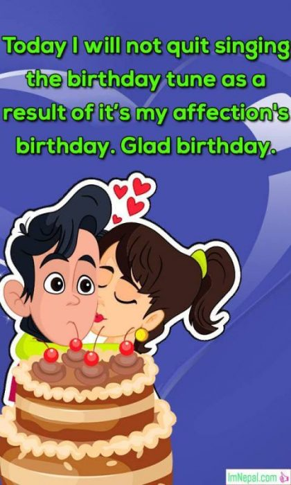 Happy birthday bday girlfriend gf lovers wishes images greetings cards pics photos wallpapers quotes pictures messages