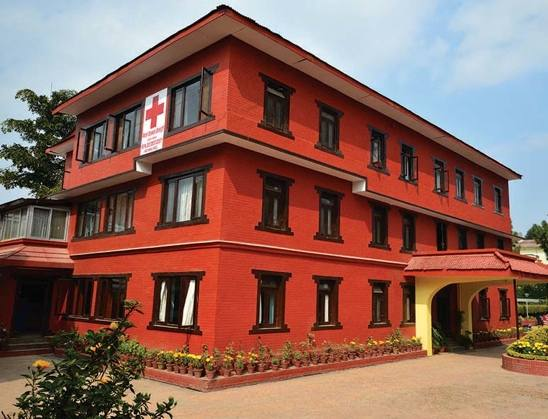NRCS Nepal redcross society building