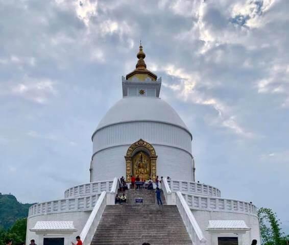 World Peace Pagoda (Shanti Stupa), Pokhara Nepal
